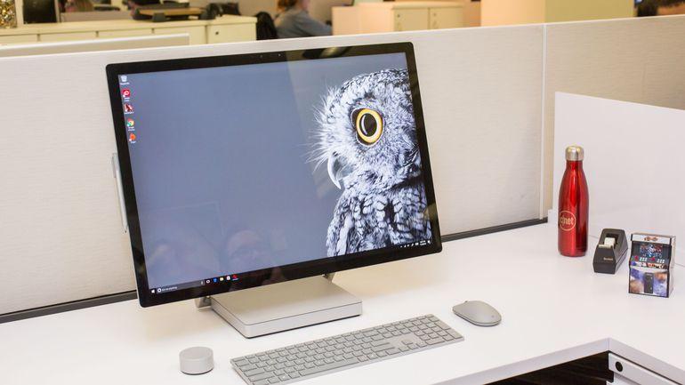 Microsoft Surface Studio : le nouvel ordinateur tactile de Microsoft